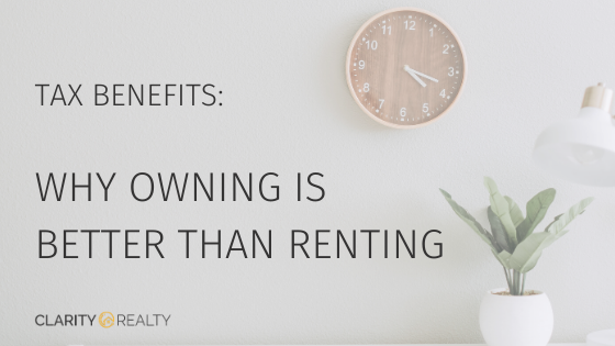 Title graphic: Why Owning is Better than Renting